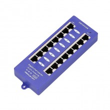 POE INJECTOR 8 PORT GIGABIT